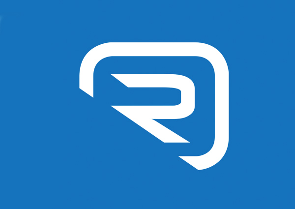 Romaco Logo on Blue